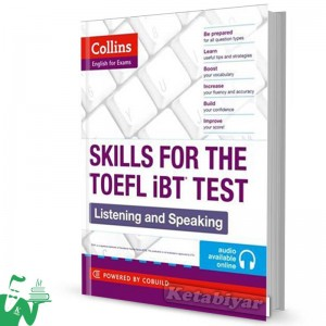 کتاب Collins Skills for The TOEFL iBT Test: Listening and Speaking