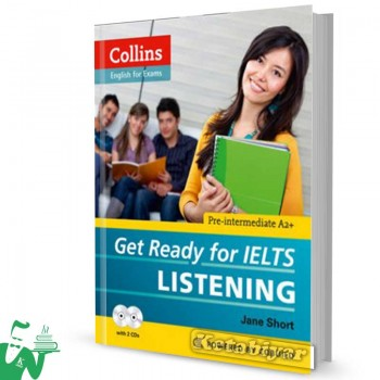 کتاب Collins Get Ready for IELTS Listening Pre-Intermediate