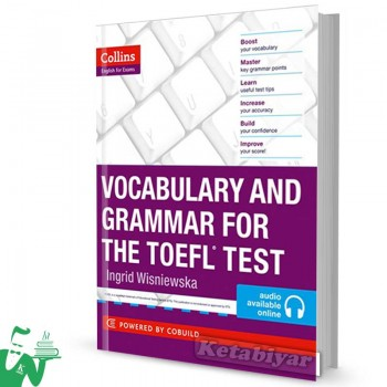 کتاب Collins Skills for The TOEFL iBT Test: Vocabulary and Grammar