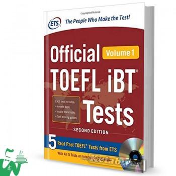 کتاب Official TOEFL iBT Tests Volume 1 (2nd)