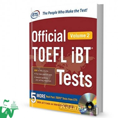 کتاب Official TOEFL iBT Tests Volume 2 (2nd)