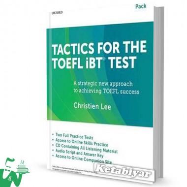 کتاب Tactics For the TOEFL iBT Test + Booklet