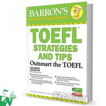 کتاب Barrons TOEFL Strategies and Tips 2nd