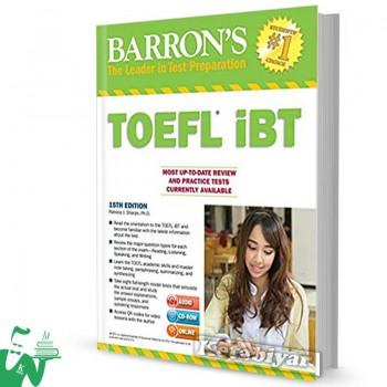 کتاب Barrons TOEFL iBT 15th