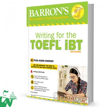 کتاب Barrons Writing for the TOEFL IBT 6th