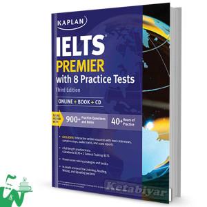 کتاب Kaplan IELTS Premier with 8 Practice Tests 3rd