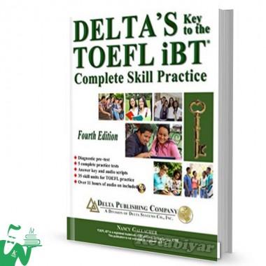 کتاب Deltas Key to the TOEFL iBT 4th