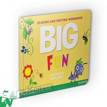 کتاب Big Fun Reading and Writing Workbook