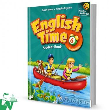کتاب English Time 6 (2nd) SB+WB