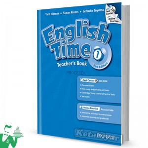 کتاب English Time 1 Teachers Book 2nd