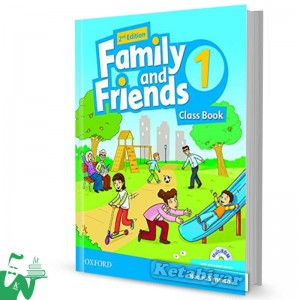 کتاب Family and Friends 1 (2nd) SB+WB