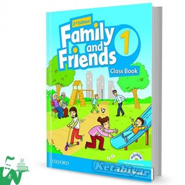 کتاب Family and Friends 1 (2nd) SB+WB