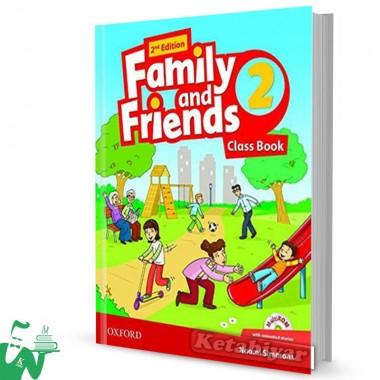 کتاب Family and Friends 2 (2nd) SB+WB