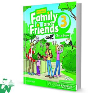 کتاب Family and Friends 3 (2nd) SB+WB