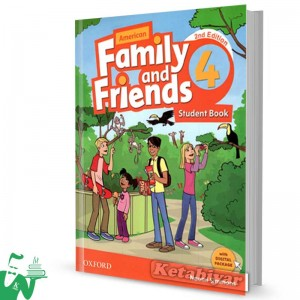 کتاب Family and Friends 4 (2nd) SB+WB