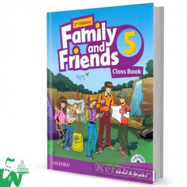 کتاب Family and Friends 5 (2nd) SB+WB