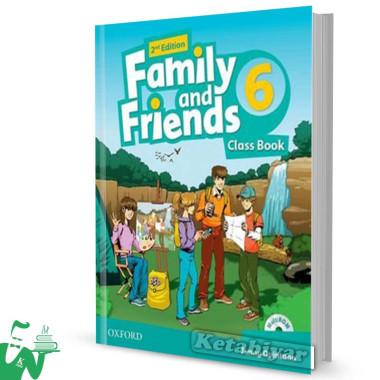 کتاب Family and Friends 6 (2nd) SB+WB
