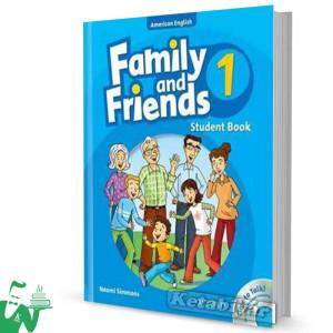 کتاب American Family and Friends 1 SB+WB