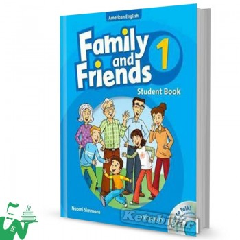 کتاب American Family and Friends 1 SB+WB