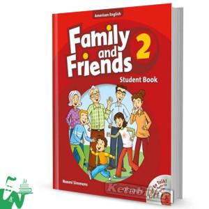 کتاب American Family and Friends 2 SB+WB