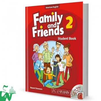 کتاب American Family and Friends 2 SB+WB