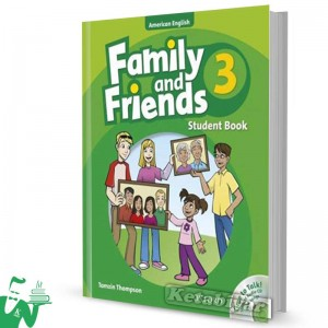 کتاب American Family and Friends 3 SB+WB