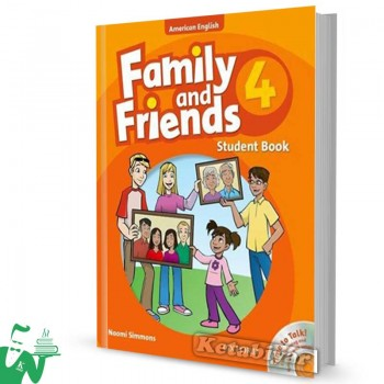 کتاب American Family and Friends 4 SB+WB