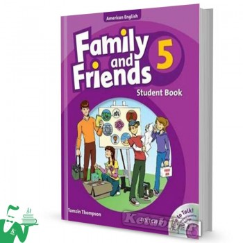 کتاب American Family and Friends 5 SB+WB