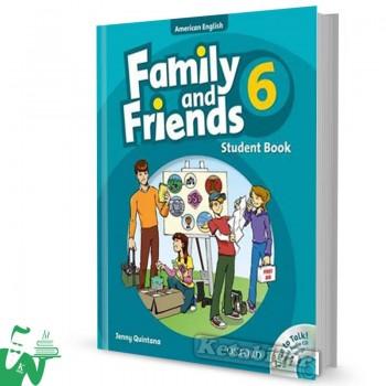 کتاب American Family and Friends 6 SB+WB