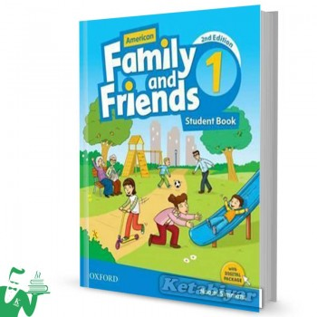 کتاب American Family and Friends 1 (2nd) SB+WB