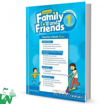 کتاب American Family and Friends 1 (2nd) Teachers book