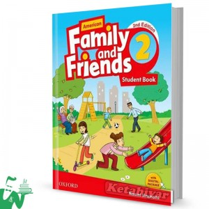 کتاب American Family and Friends 2 (2nd) SB+WB