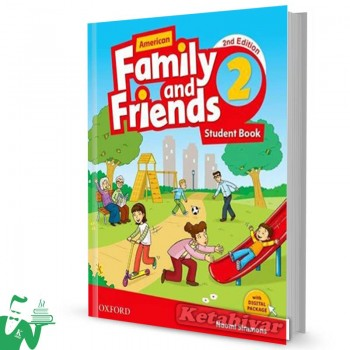 کتاب American Family and Friends 2 (2nd) SB+WB