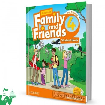 کتاب American Family and Friends 4 (2nd) SB+WB