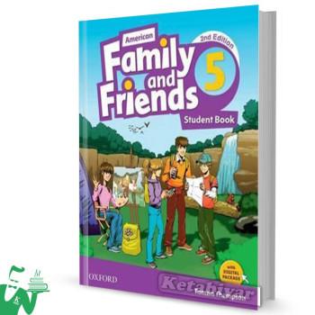 کتاب American Family and Friends 5 (2nd) SB+WB