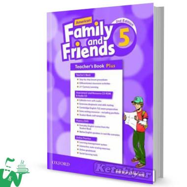 کتاب American Family and Friends 5 (2nd) Teachers book
