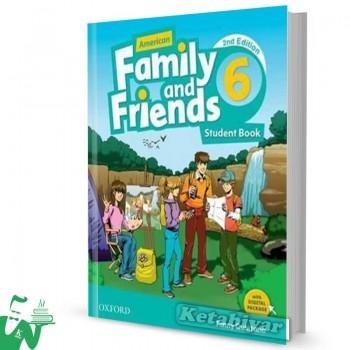 کتاب American Family and Friends 6 (2nd) SB+WB