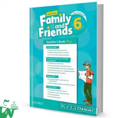 کتاب American Family and Friends 6 (2nd) Teachers book