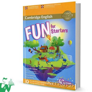 کتاب Fun for Starters Students Book 4th+Home Fun Booklet 2