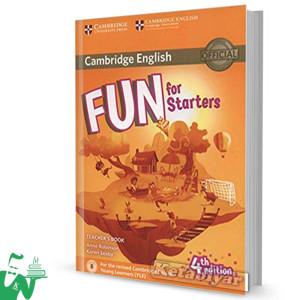 کتاب Fun for Starters Teachers Book 4th