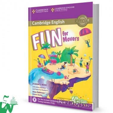 کتاب Fun for Movers Students Book 4th+ Home Fun Booklet 4