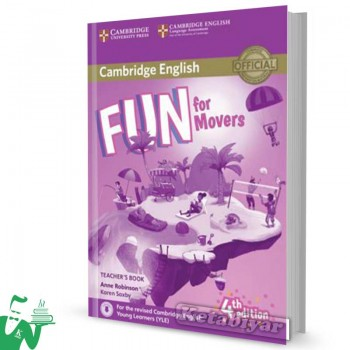 کتاب  Fun for Movers Teachers Book 4th