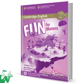 کتاب  Fun for Movers Teachers Book 4th
