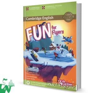 کتاب Fun for Flyers Students Book 4th+ Home Fun Booklet 6