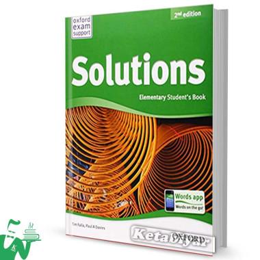 کتاب New Solutions Elementary SB+WB