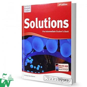 کتاب New Solutions Pre-Intermediate SB+WB