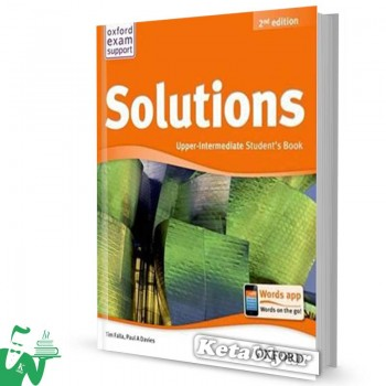 کتاب New Solutions Upper-Intermediate SB+WB