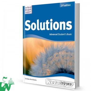 کتاب New Solutions Advanced SB+WB