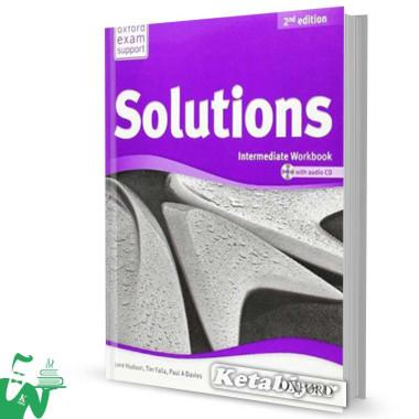 کتاب New Solutions Intermediate SB+WB
