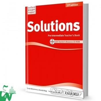 کتاب New Solutions Pre-Intermediate Teachers Book